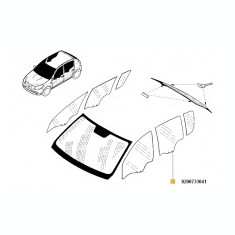 GEAM USA SPATE STANGA DACIA SANDERO - Usi auto