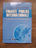 FINANTE PUBLICE INTERNATIONALE - DANIELA LIDIA ROMAN (2006), Alta editura
