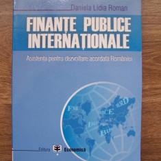 FINANTE PUBLICE INTERNATIONALE - DANIELA LIDIA ROMAN (2006)