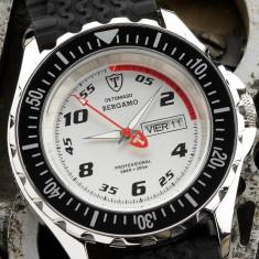 Ceas diver, tip LUX - SPORT DETOMASO Bergamo, mecanism elvetian SWISS MADE ( design ROLEX ) WATER RESISANT : 20 ATM = 200m pt. INOT ~ ! ! ! - Ceas barbatesc Detomaso, Mecanic-Manual