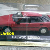 Macheta metal DeAgostini - Daewoo Espero - NOUA Sigilata, Masini de legenda - Macheta auto, 1:43