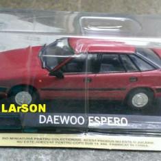 Macheta metal DeAgostini - Daewoo Espero - NOUA, Masini de legenda - Macheta auto, 1:43
