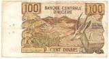 ALGERIA 100 DINARI DINARS 1970 U