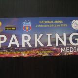 Steaua Bucuresti - Ajax Amsterdam (21 februarie 2013) - acces parcare