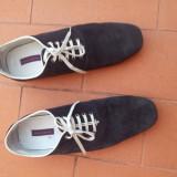 Pantofi ZARA piele intoarsa