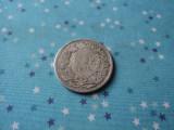 M. 1 franc 1877 Elvetia, nr 2, argint
