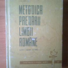 K2 Metodica predarii limbii romane, Anul publicarii: 1966
