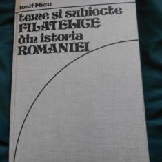 Teme si subiecte filatelice din istoria Romaniei - Iosif Micu