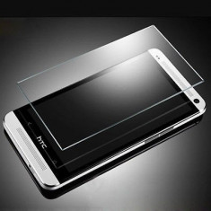 Geam HTC ONE M7 Tempered Glass 0.3mm - Folie de protectie HTC, Lucioasa