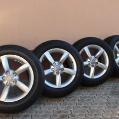 JANTE originale Audi 16zoll + anvelope vara Michelin aproape noi - Janta aliaj Audi, Numar prezoane: 5, PCD: 112
