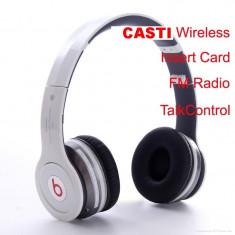 CASTI WIRELESS CU ACUMULATOR, BLUETOOTH, USB MONSTER POLO HD, CU RADIO FM SI MP3 Monster Beats by Dr. Dre, Casti On Ear