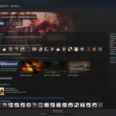 VAND Cont Steam +Carcase originale URGENT va rog! - Jocuri PC Altele, Toate varstele, Multiplayer