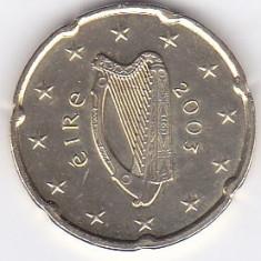Moneda Irlanda 20 Euro Centi 2003 - KM#36 UNC, Europa