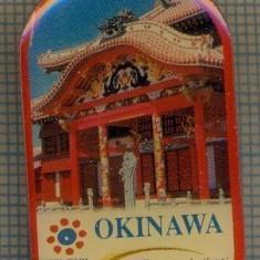 1785 INSIGNA - OKINAWA - KYUSHU-OKINAWA SUMMIT 2000 - NTT COMMUNICATIONS -TELECOMUNICATII -starea care se vede