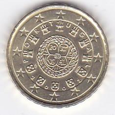 Moneda Portugalia 10 Euro Centi 2002 - KM#743 UNC, Europa