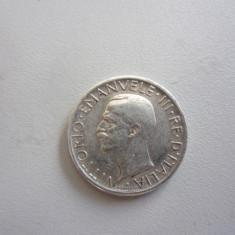5 LIRE 1927 ITALIA - VITTORIO EMANUELE III - MONEDA ARGINT