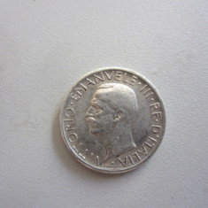 5 LIRE 1927 ITALIA - VITTORIO EMANUELE III - MONEDA ARGINT, Europa