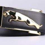 Curea barbati piele autentica Jaguar M1 pafta pantera puma (4 culori) +CADOU