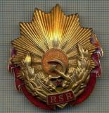 1793 INSIGNA - ORDINUL MUNCII RSR -starea care se vede