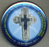 1797 INSIGNA -PRIMARIA SECTORULUI 1- BISERICA SFINTEI CRUCI SI A SF.VASILE-INALTAREA SFINTEI CRUCI-13-14 SEP 2011-starea care se vede