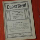 revista Luceafarul anul XII / nr 6 Sibiiu 16 martie 1913 !!!