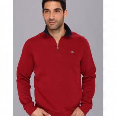 Hanorac barbati Lacoste Half Zip Lightweight Sweatshirt | 100% original | Livrare cca 10 zile lucratoare | Aducem pe comanda orice produs din SUA
