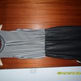 Rochie ZARA, stare noua, marimea XS - Rochie de seara Zara, Marime: 34, Culoare: Negru, Negru, Scurta