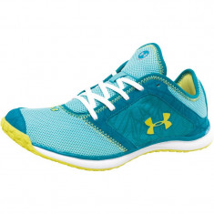 Adidasi under armour - Adidasi dama Under Armour, Culoare: Turcoaz, Marime: 36.5, Din imagine