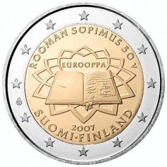 FINLANDA 2 euro comemorativ 2007 TOR, UNC, Europa, Cupru-Nichel