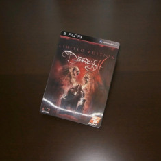 The Darkness II Limited Steelbook Edition , PS3,  extrem de rar , sigilat