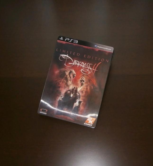 The Darkness II Limited Steelbook Edition , PS3,  extrem de rar , sigilat