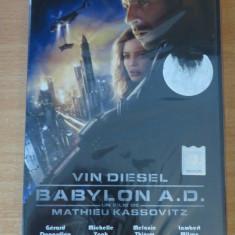 Babylon A.D. - Film SF Altele, DVD, Romana