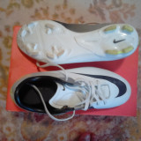 Vand ghete de fotbal Nike Mercurial Victory 2 FG - Ghete fotbal Nike, Marime: 37.5, Alb, Copii, Iarba: 1