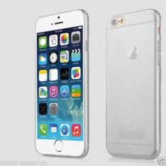 Husa transparenta si folie de sticla Tempered Glass pentru iphone 6 - Husa Telefon Apple