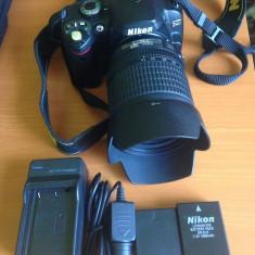 Nikon d40 + obiectiv nikon 18 - 105mm - DSLR Nikon, Kit (cu obiectiv), Sub 8 Mpx, HD
