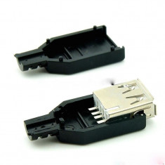 Conector USB type A mama