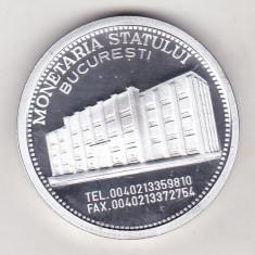 Bnk sc  medalie Monetaria Statului Bucuresti