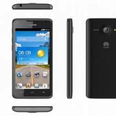 Smartphone Huawei Ascend Y530 Black, Garantie 2 ani!, Negru, 4GB, Orange