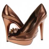 Pantofi BCBGeneration - Femei - 100% Original, 37, Bronz, Cu talpa joasa