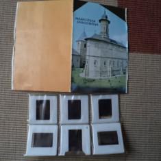 manastirea dragomirna set 6 diapozitive bonus brosura mica ilustrata foto hobby