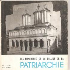 (C5219) LES MONUMENTS DE LA COLLINE DE LA PATRIARCHIE, MONUMENTELE DE PE COLINELE PATRIARHIEI, AUTOR:P.E. MICLESCO, EDITURA MERIDIANE, 1967 - Ghid de calatorie