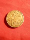 Moneda 1 Dolar 1985 Australia ,R.Elisabeta / cangur , bronz