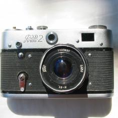 Aparat foto Fed 2+obiectiv Industar 61 - Aparat Foto Cu Film Fed