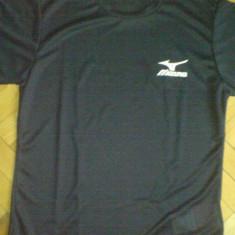 Tricou alergare Mizuno Drylite negru S - IN STOC, Marime: S, Tricouri