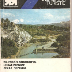 (C5222) MIC INDREPTAR TURISTIC. SLANIC DE FEDON GRIGOROPOL, MIHAI IELENICZ, CEZAR POPESCU, EDITURA SPORT-TURISM, 1983 - Ghid de calatorie