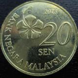 (1156) MALAYSIA 20 SEN 2013