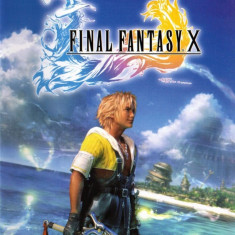 Final Fantasy X - Jocuri PS2 Square Enix, Actiune, Toate varstele, Single player