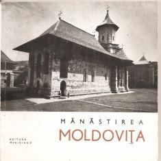 (C5216) MANASTIREA MOLDOVITA DE CORINA NICOLESCU, EDITURA MERIDIANE, 1967 - Ghid de calatorie