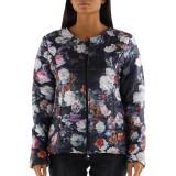 Jacheta dama ALF9040, mar.de la S la XXL, negru imprimeu floral