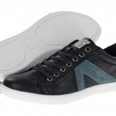 GUESS Jocino piele albastrii 42 (ultima bucata) - Pantof barbat Guess, Culoare: Albastru, Piele naturala, Sport